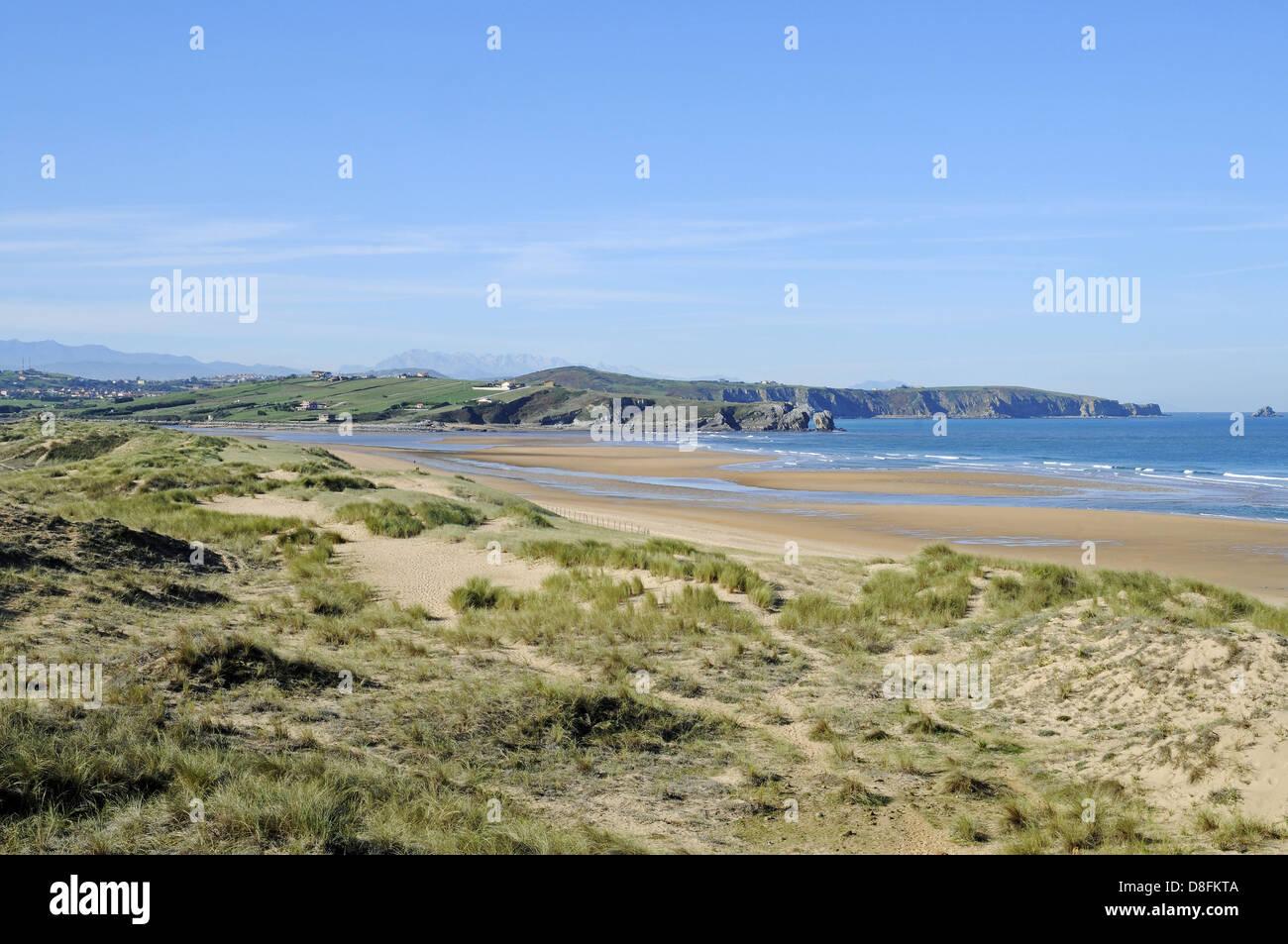 Playa de Valdearenas - Stock Image