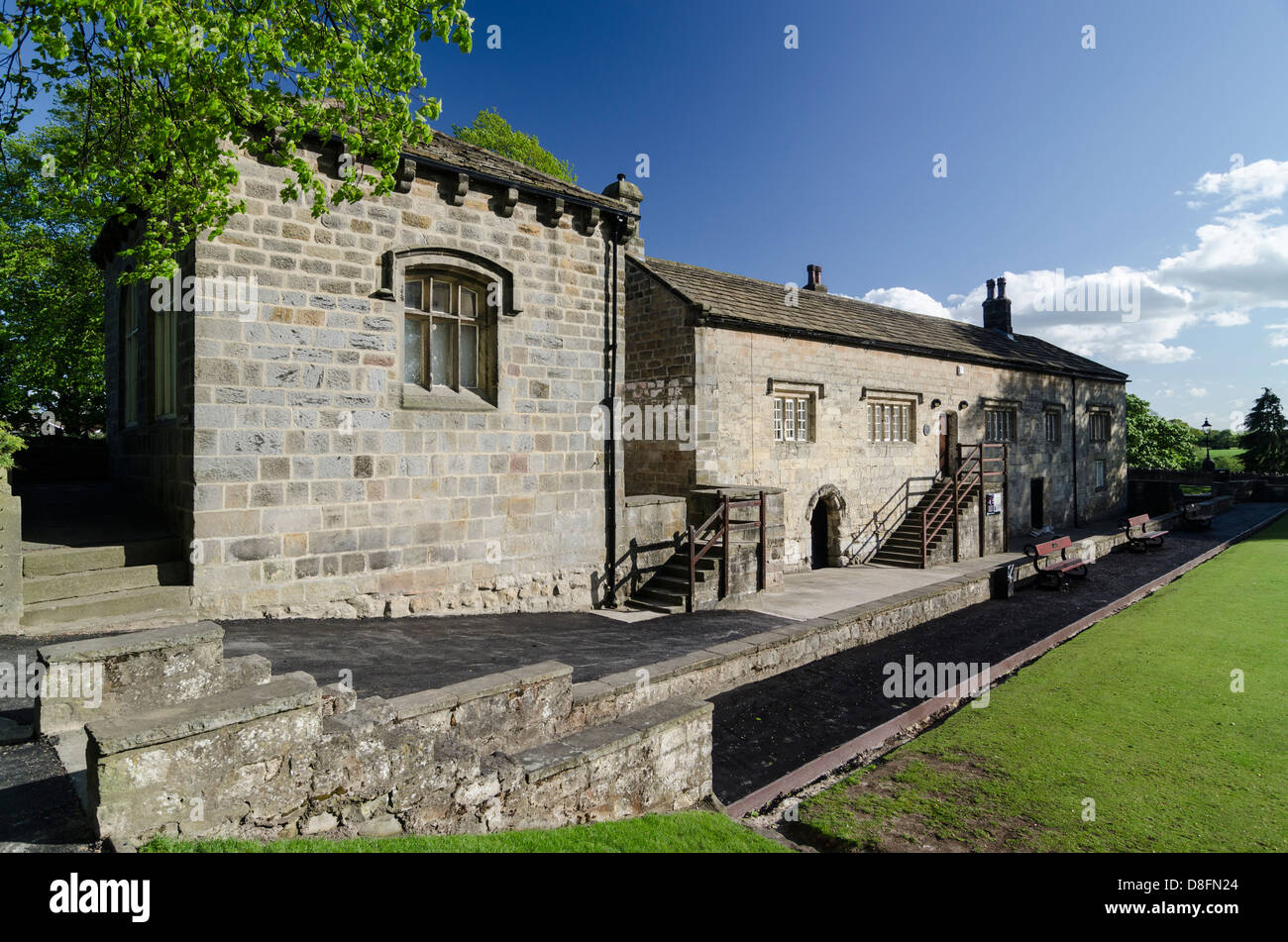 Courthouse Museum Knaresborough North Yorkshire UK - Stock Image
