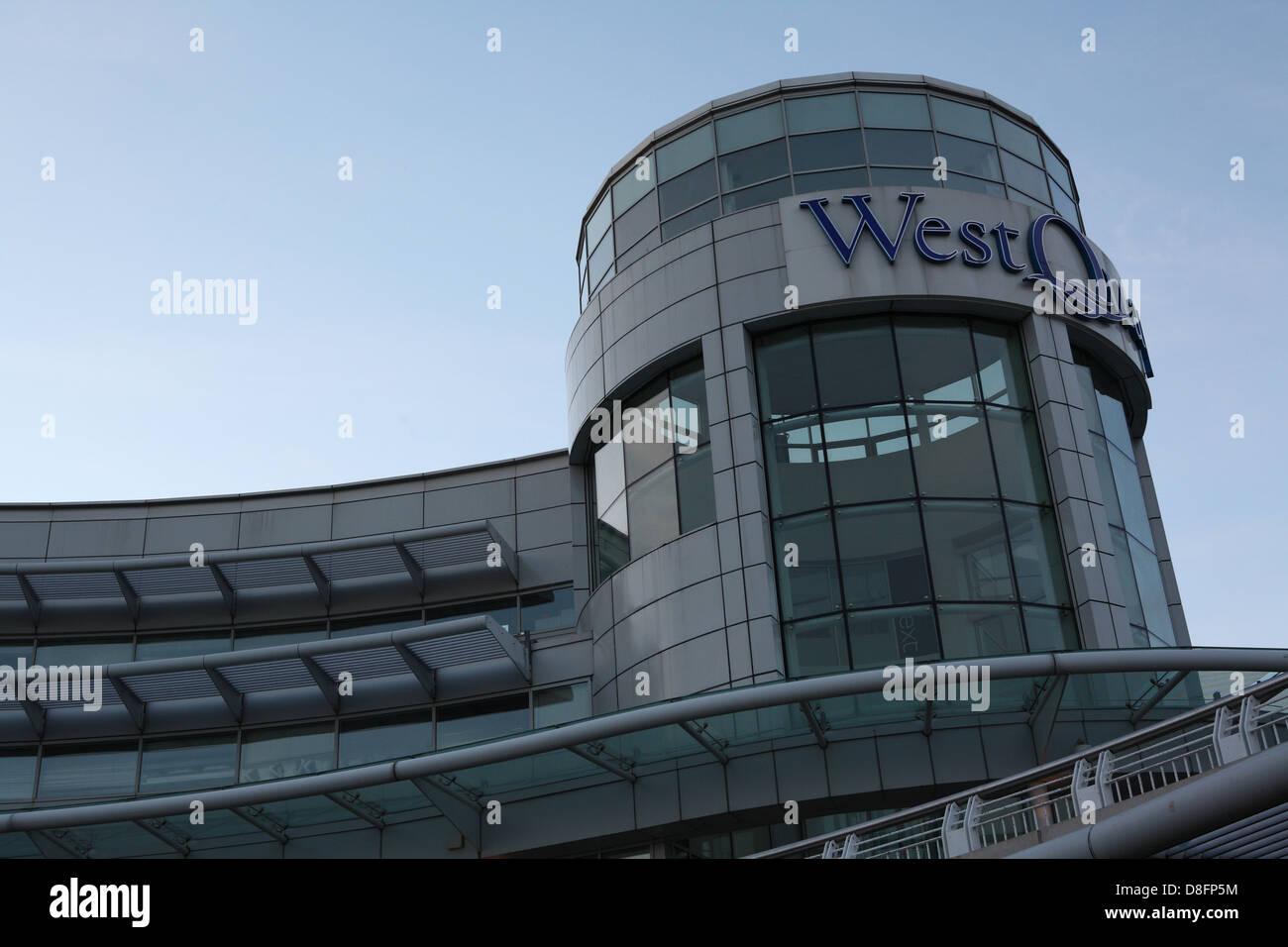 West QUAY - Stock Image