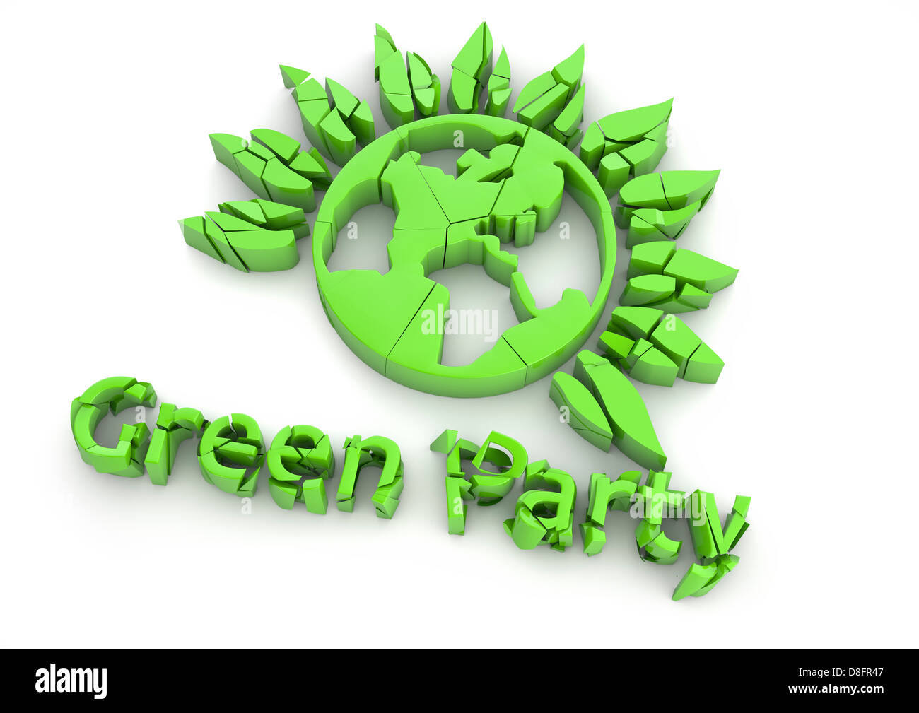 Green Party Logo Stock Photos Green Party Logo Stock Images Alamy
