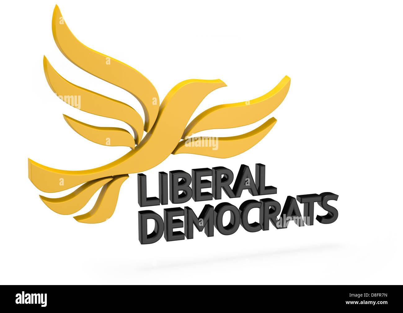 Liberal Democrats Logo - Stock Image
