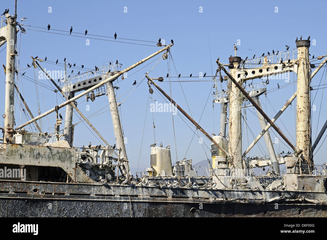 old ship - Stock Image