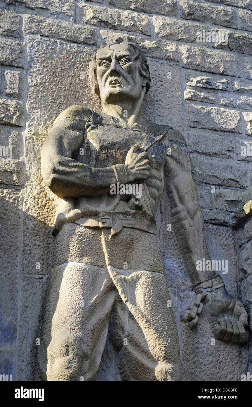 Monument to Soviet forced labor workers - Stock Image