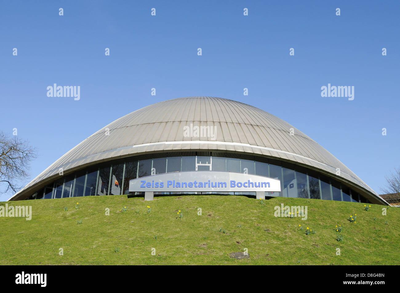 Zeiss Planetarium Stock Photo