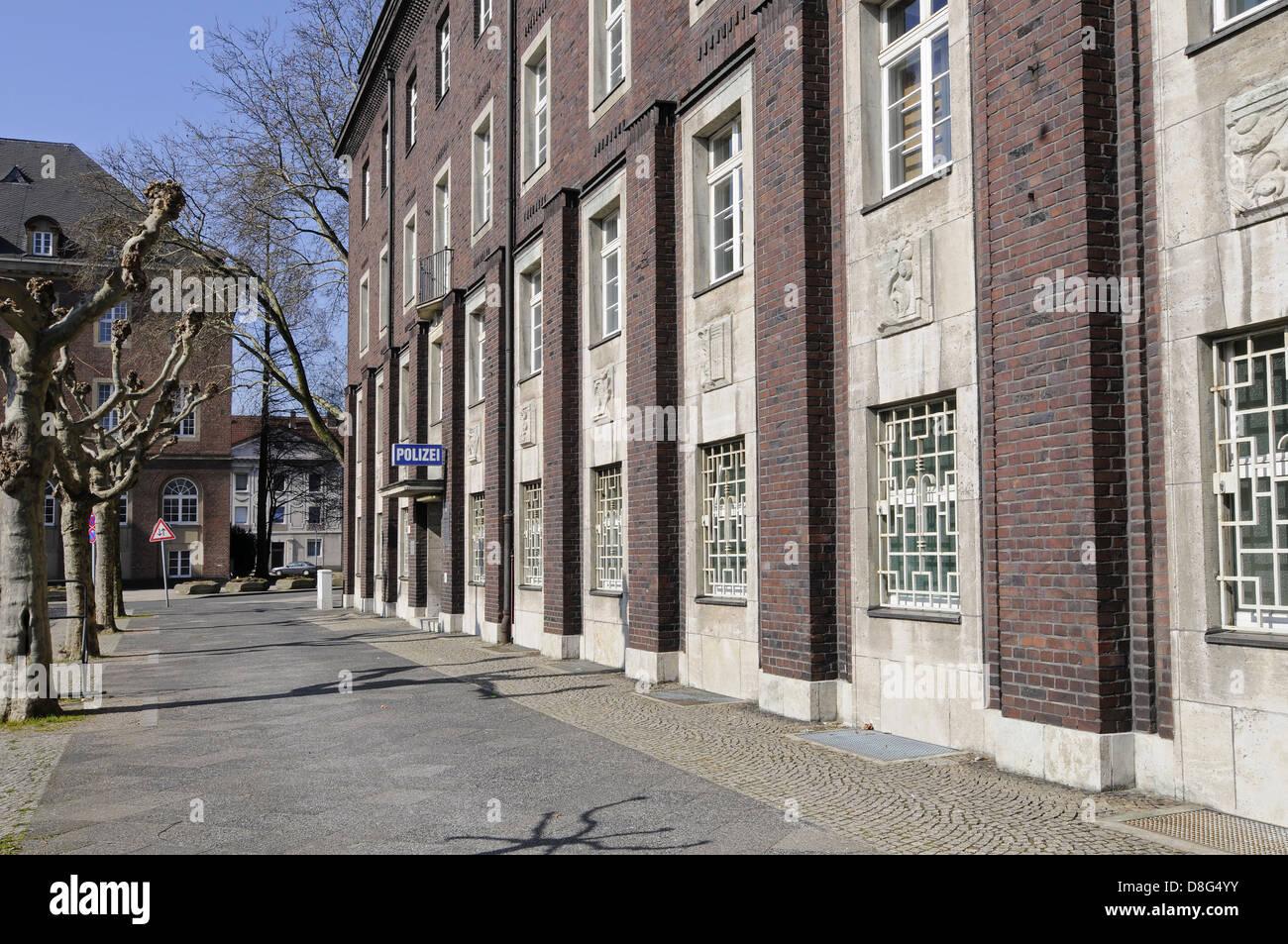 police headquarters Stock Photo