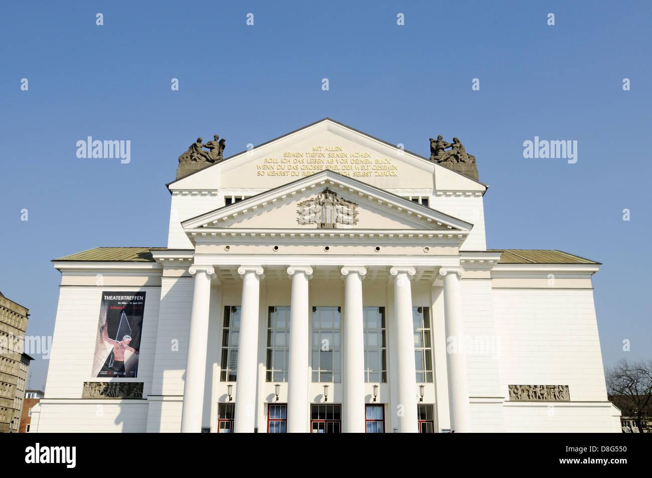 municipal theatre Stock Photo