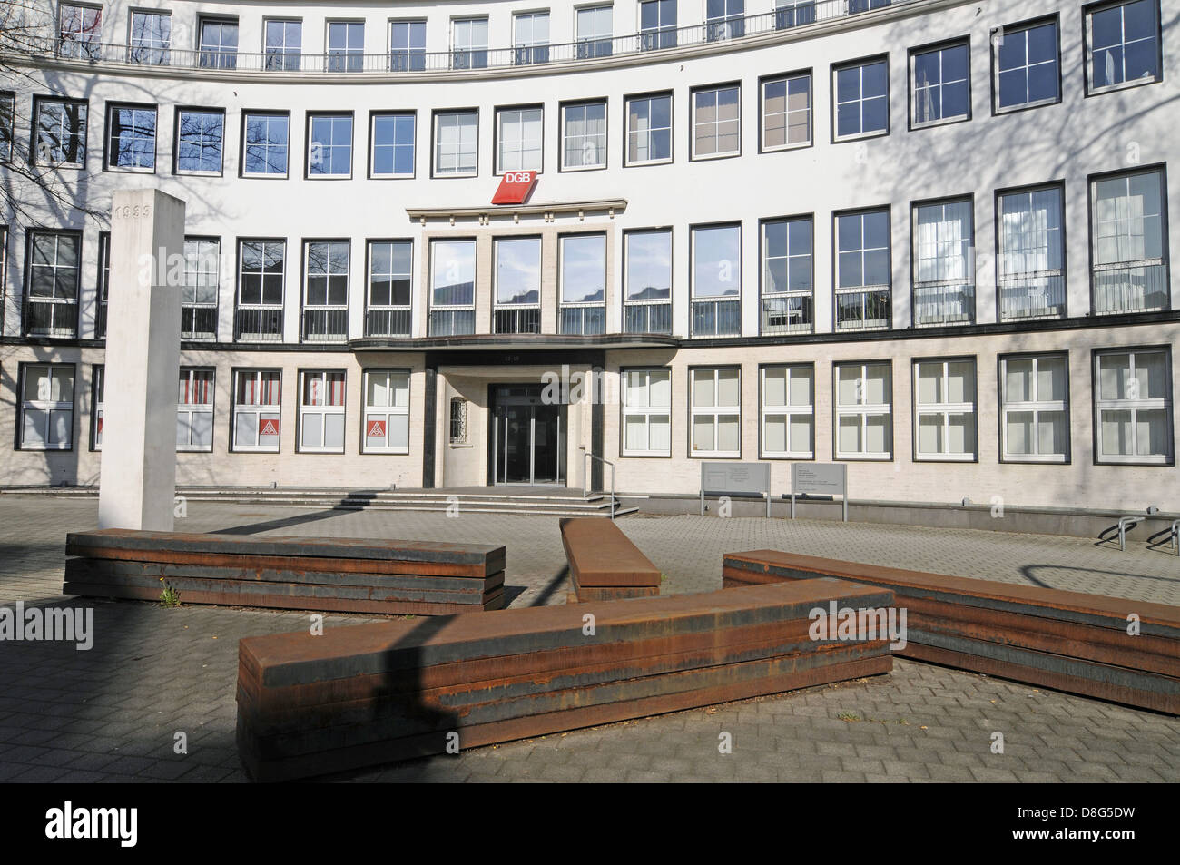 Confederation of German Trade Unions - Stock Image