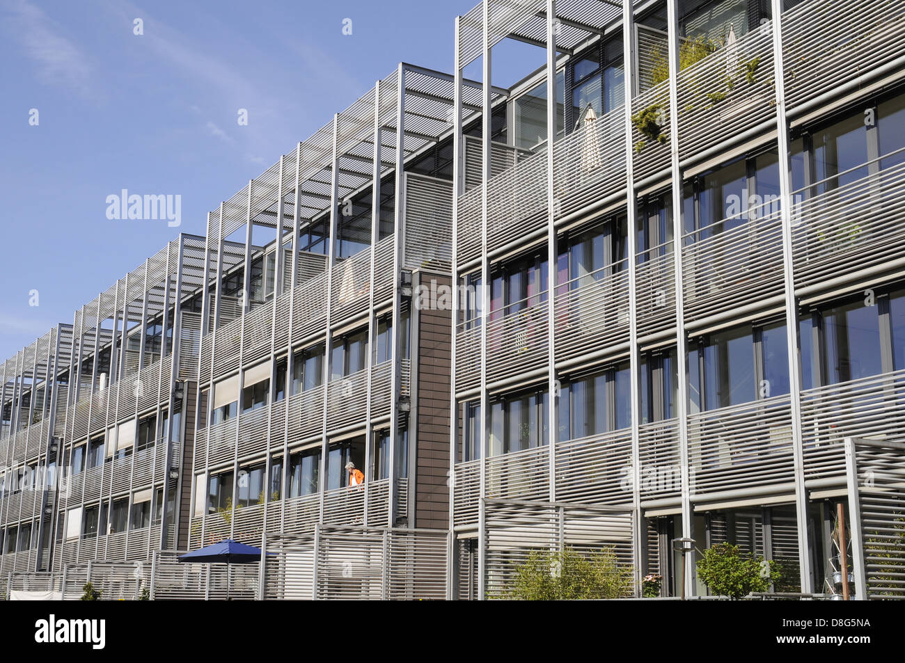 Modern residential complex Stock Photo