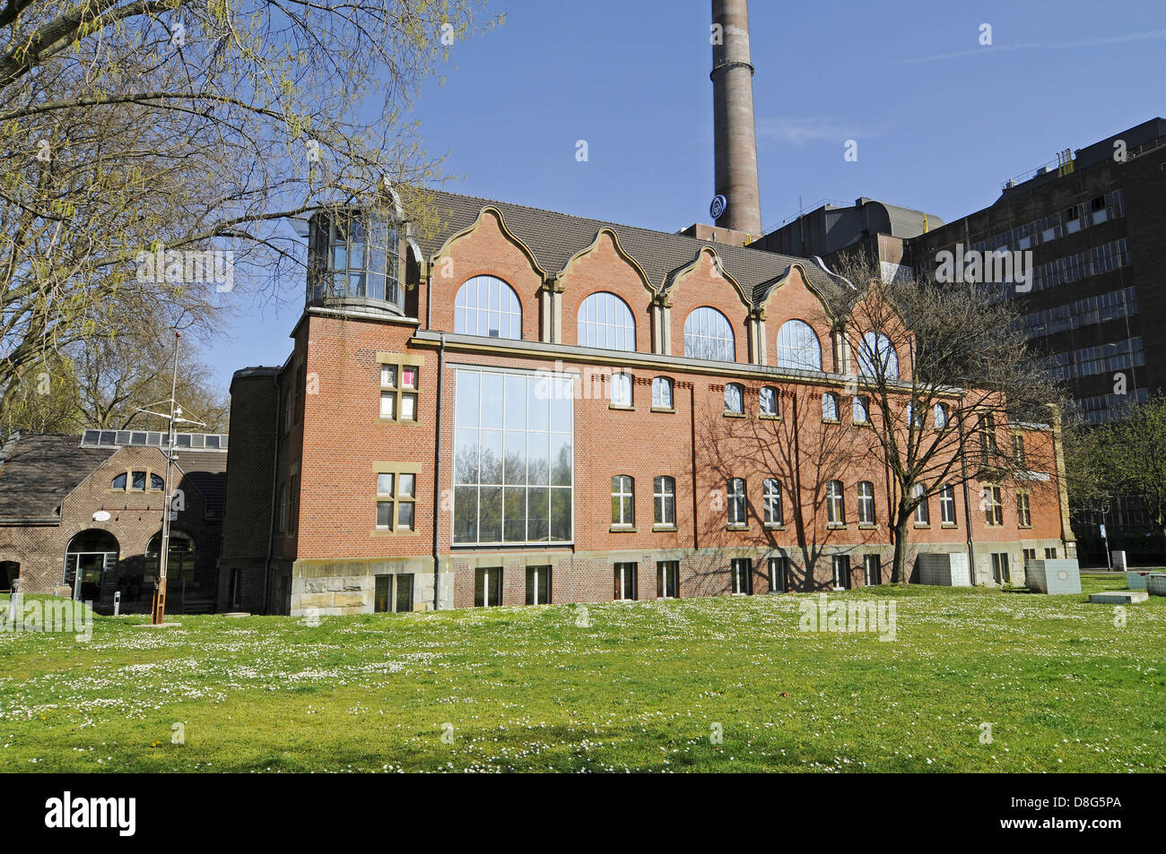 Museum of German Inland Navigation Stock Photo
