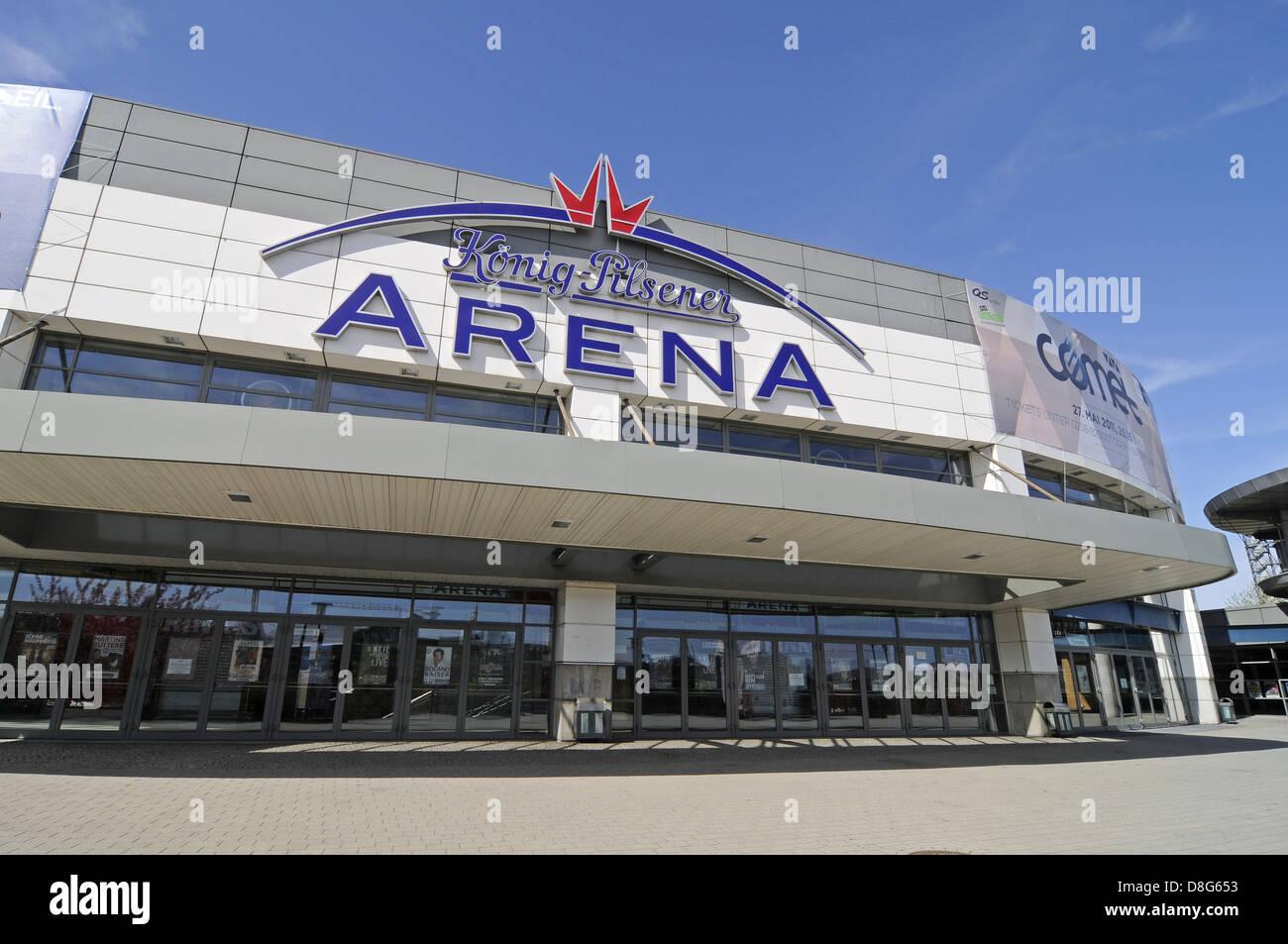 Koenig-Pilsener-Arena multi-purpose hall - Stock Image