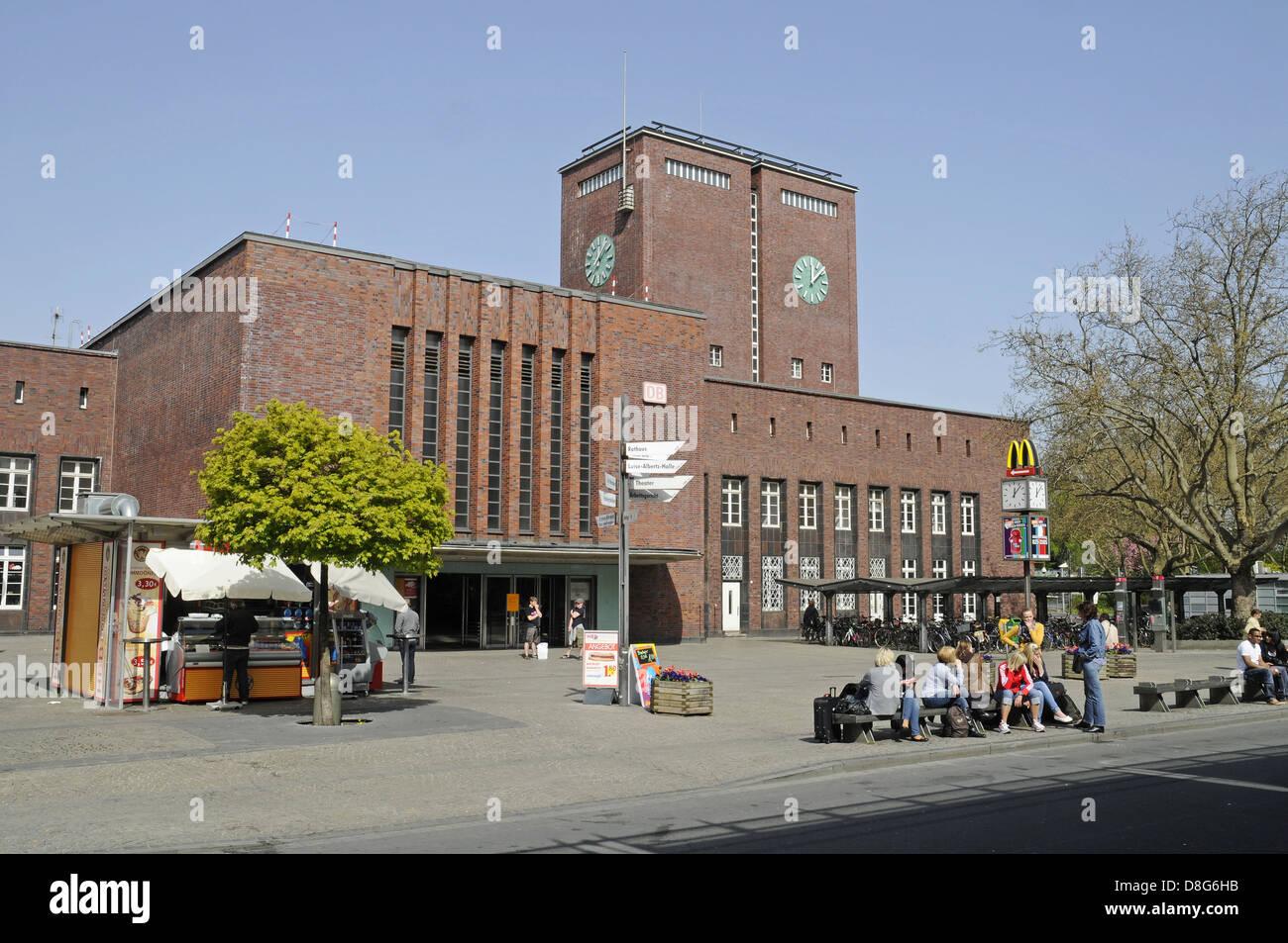 Main station Stock Photo