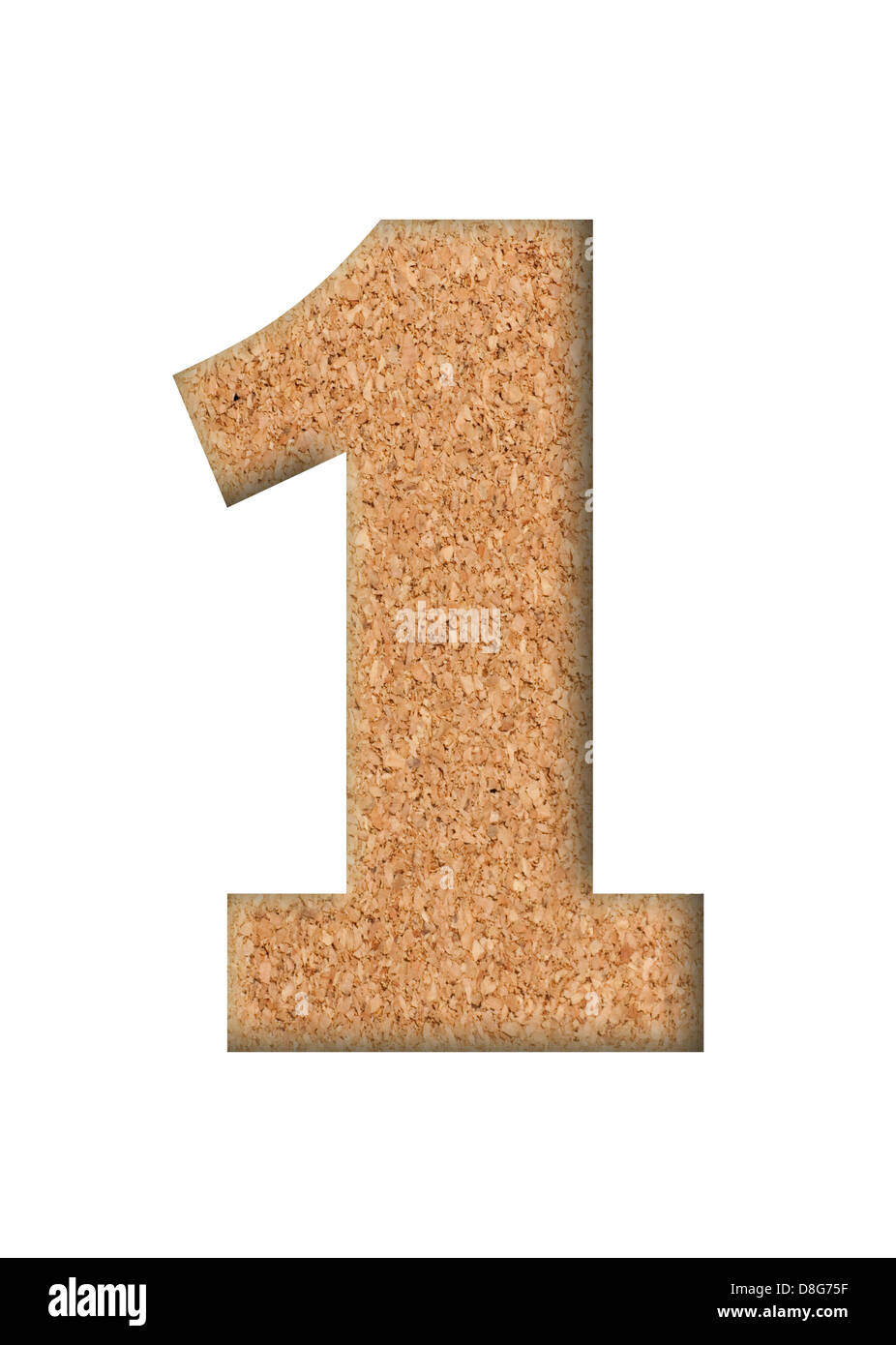 The concept of single number - Stock Image