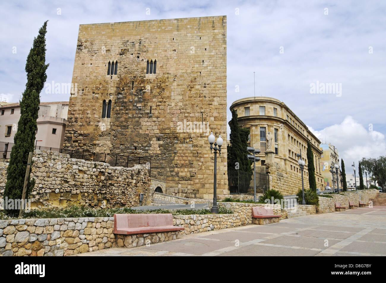 roman tower - Stock Image
