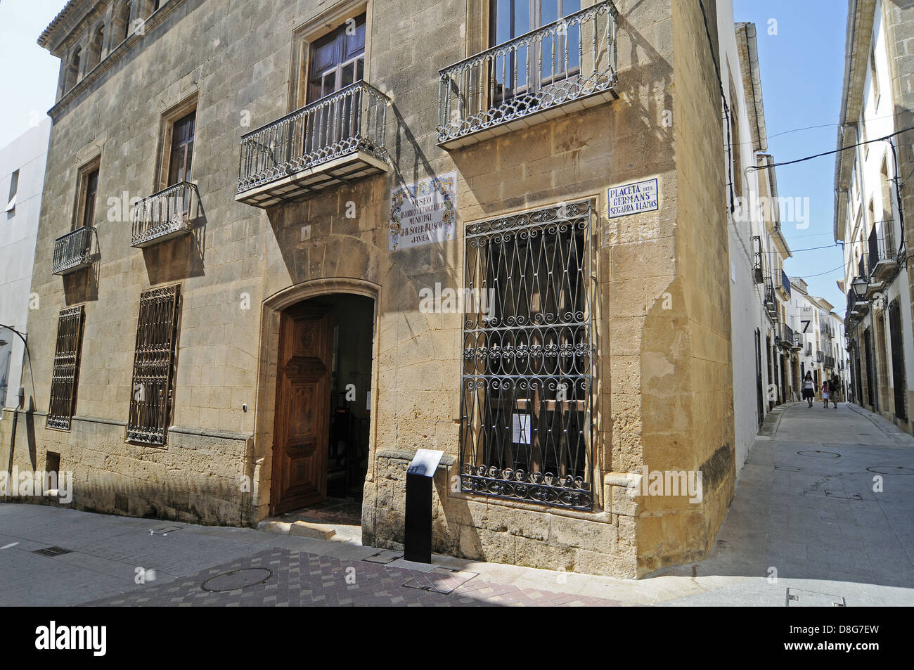 Archaeological and Ethnographic Museum - Stock Image