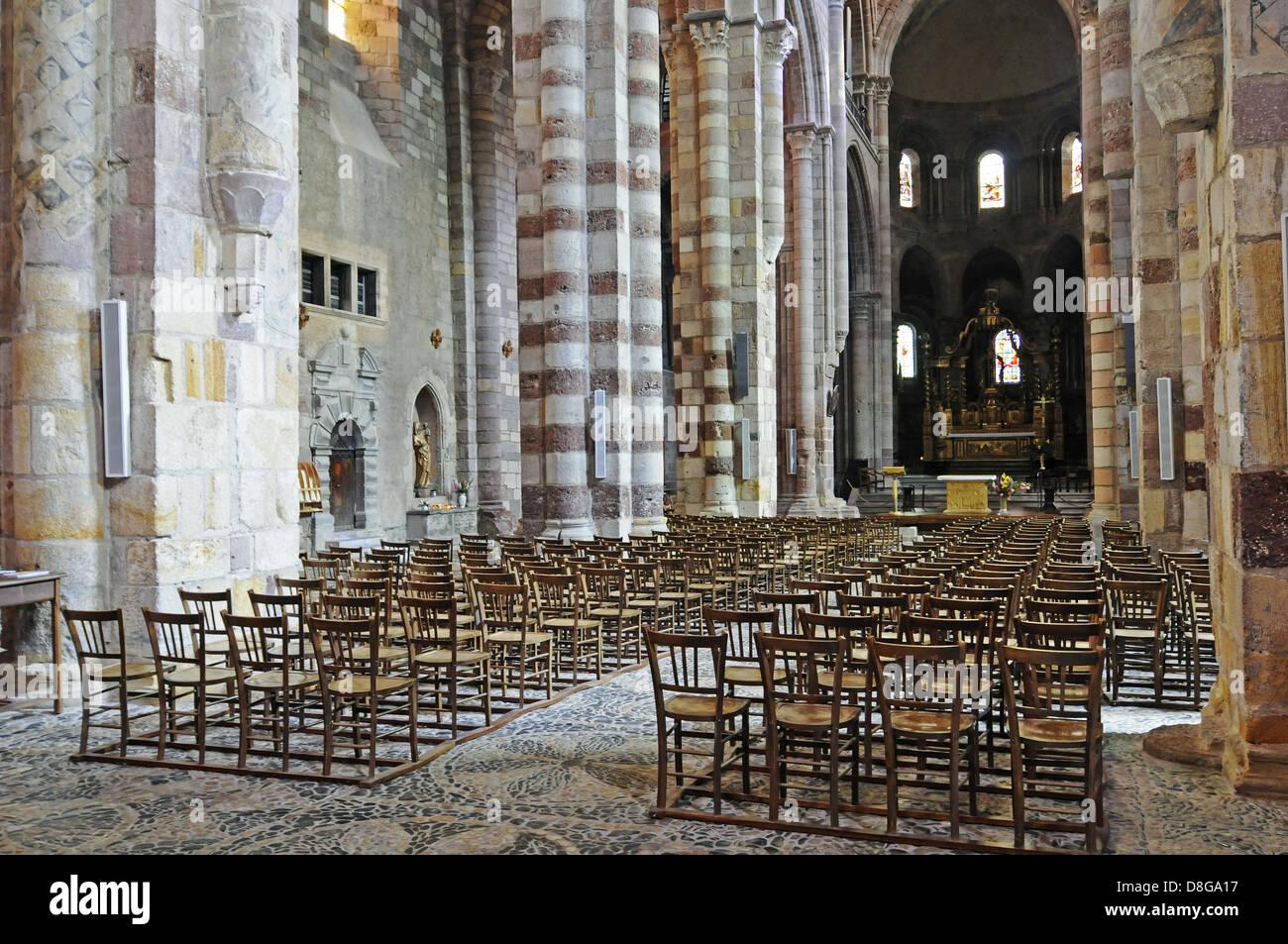 Basilica Saint Julien - Stock Image