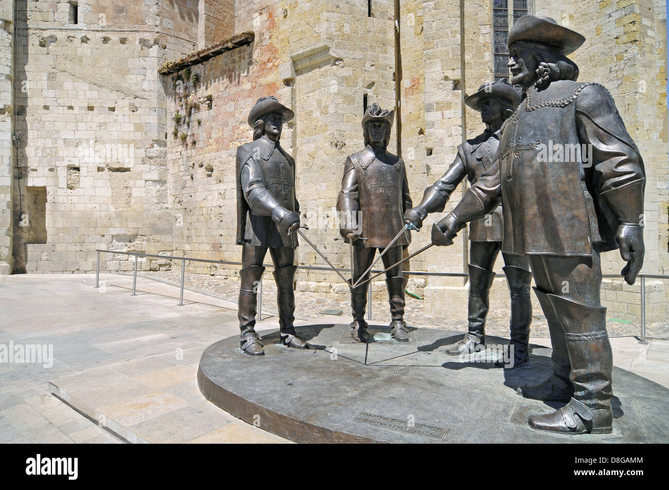 The Four Musketeers - Stock Image