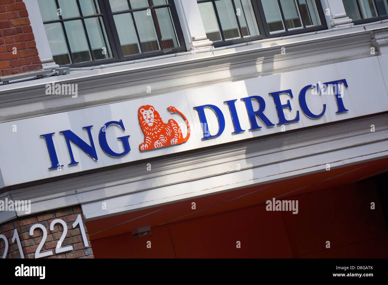 ING Direct - Stock Image