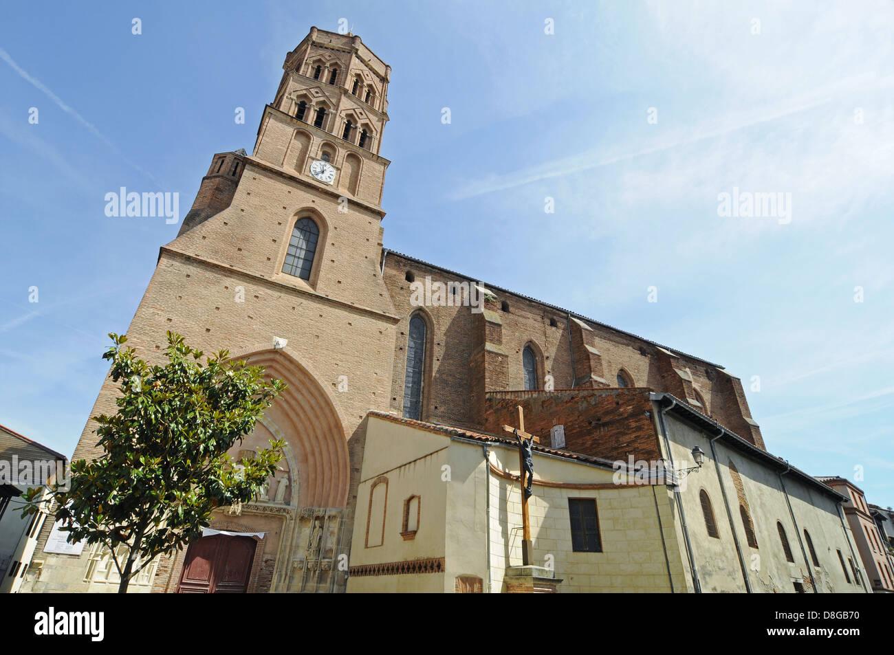 Saint Nicolas church - Stock Image
