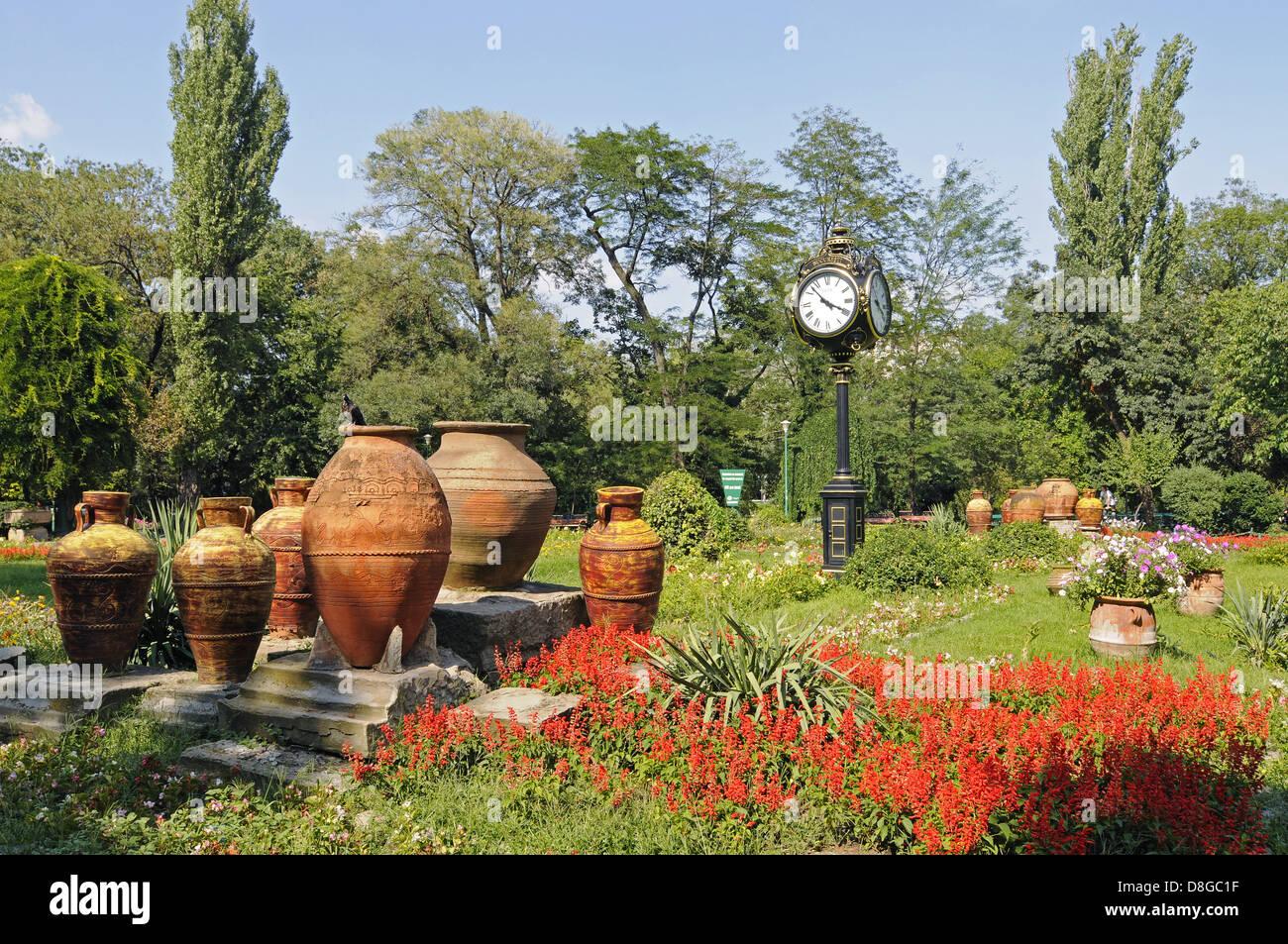 Park Cismigiu Stock Photo