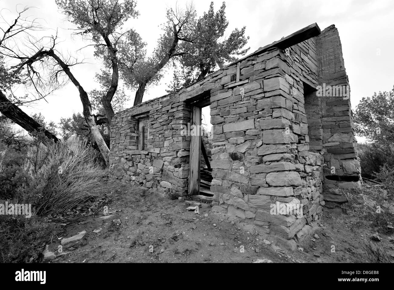 Utah Ruin Abandoned Stock Photos Amp Utah Ruin Abandoned
