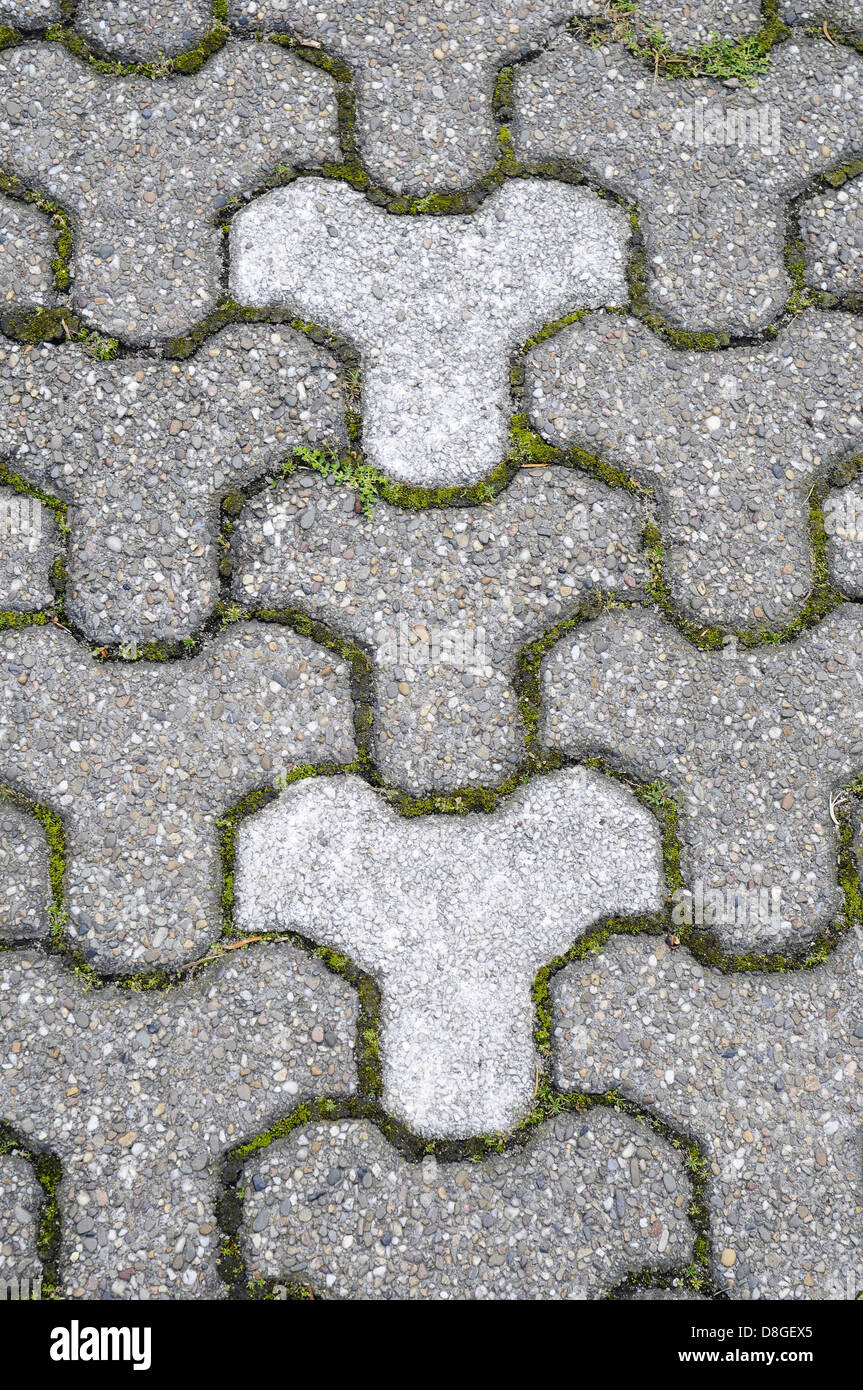 Paving stones - Stock Image