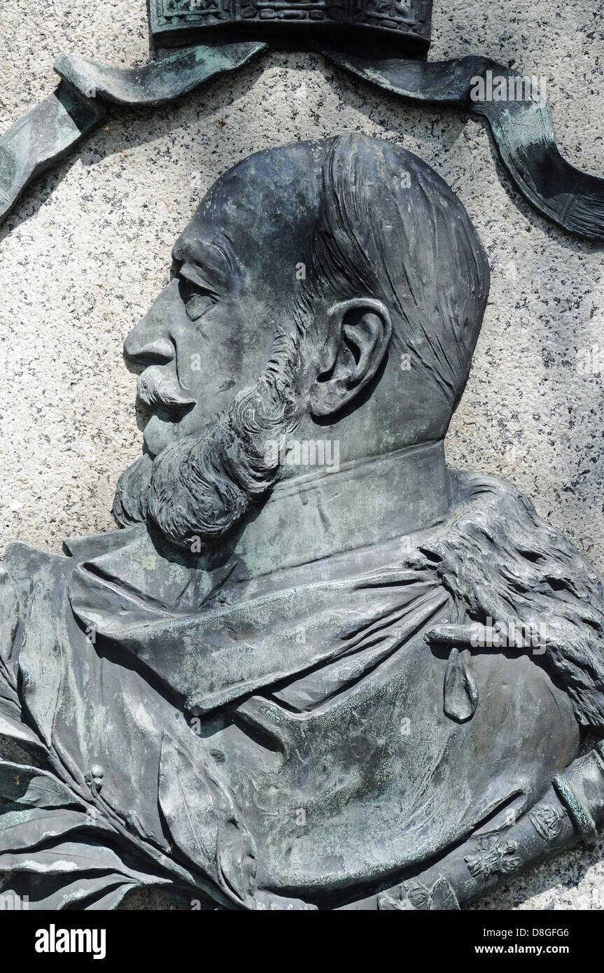 Kaiser Wilhelm I - Stock Image
