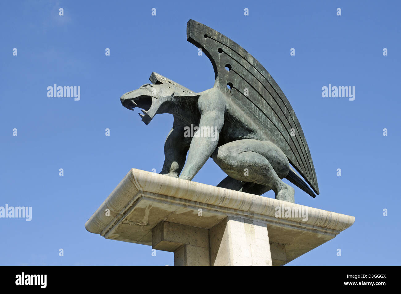 Griffin - Stock Image