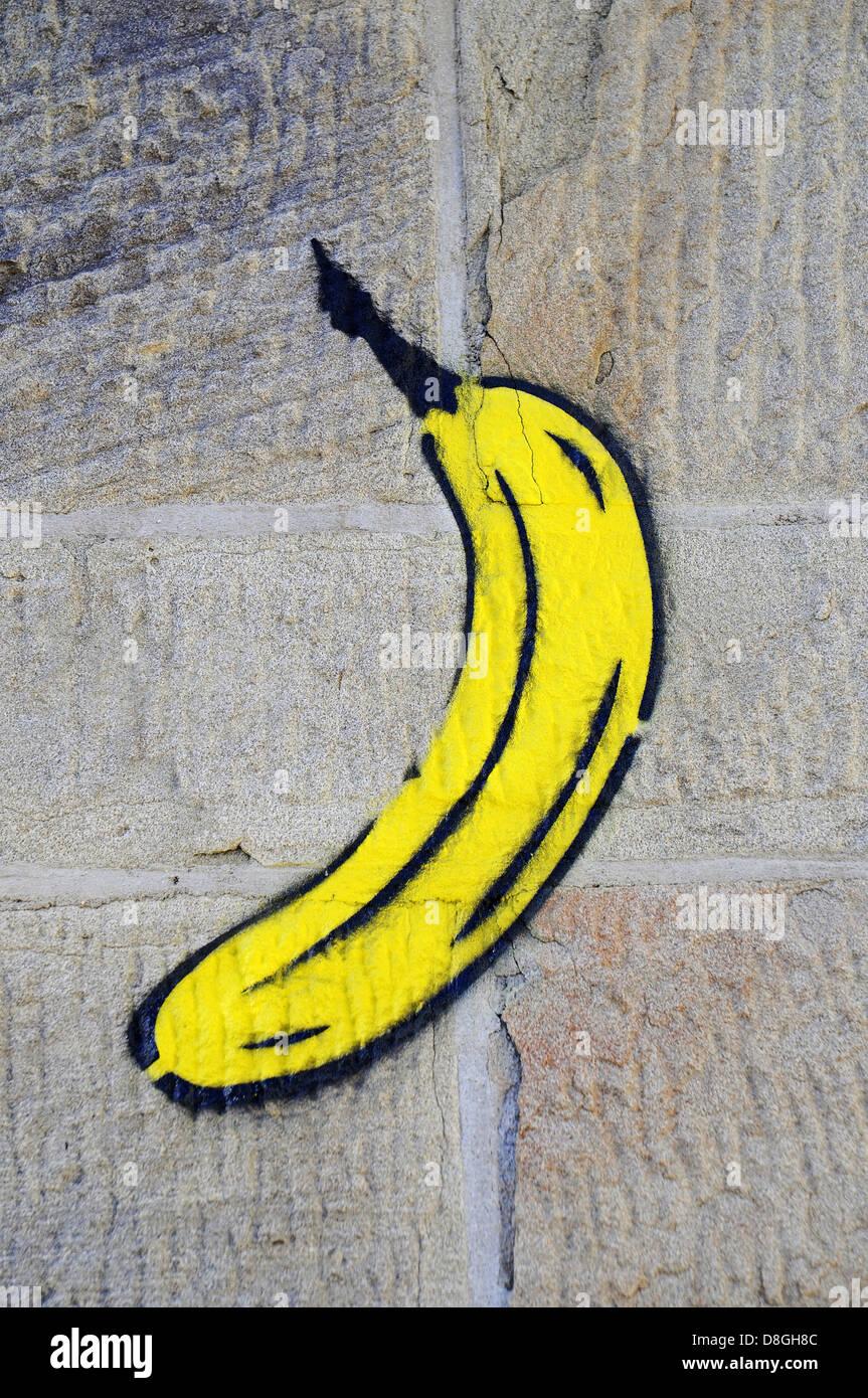 Banana - Stock Image