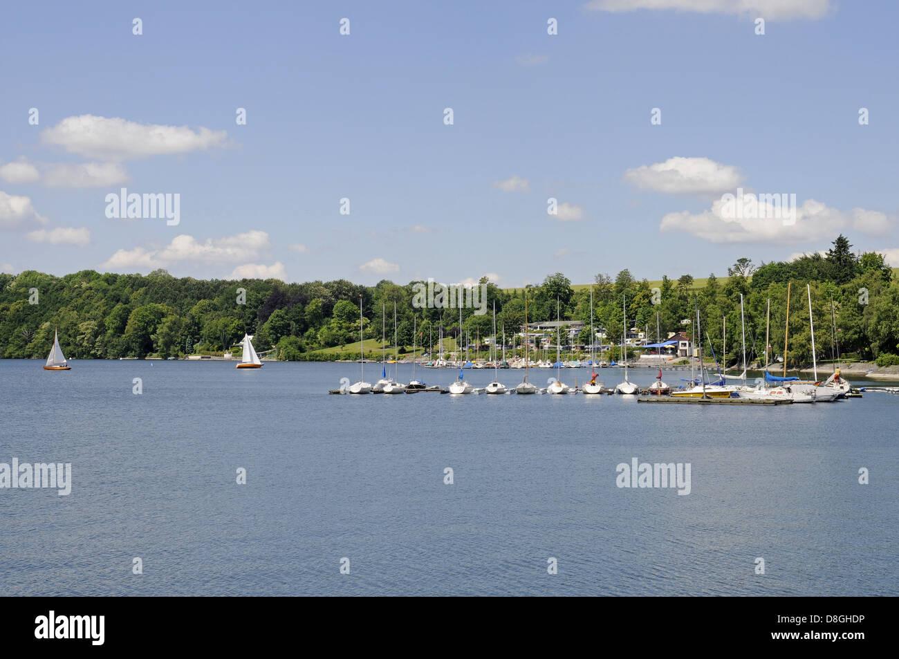 sailing ships - Stock Image