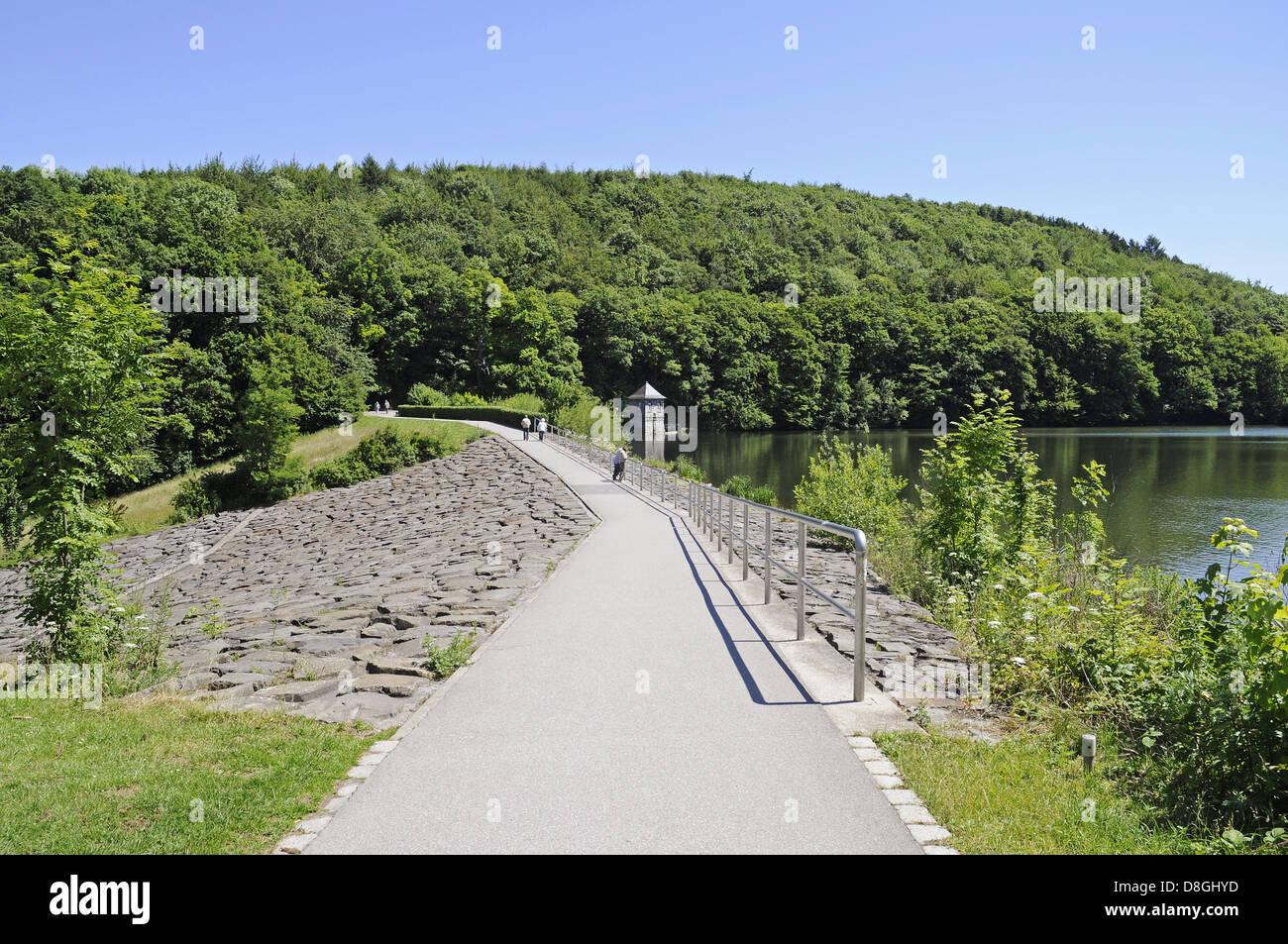 Dam, Seilersee Stock Photo