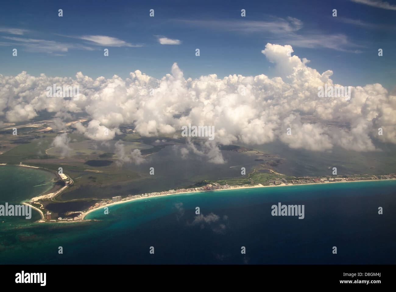 Cancun Beach - Stock Image