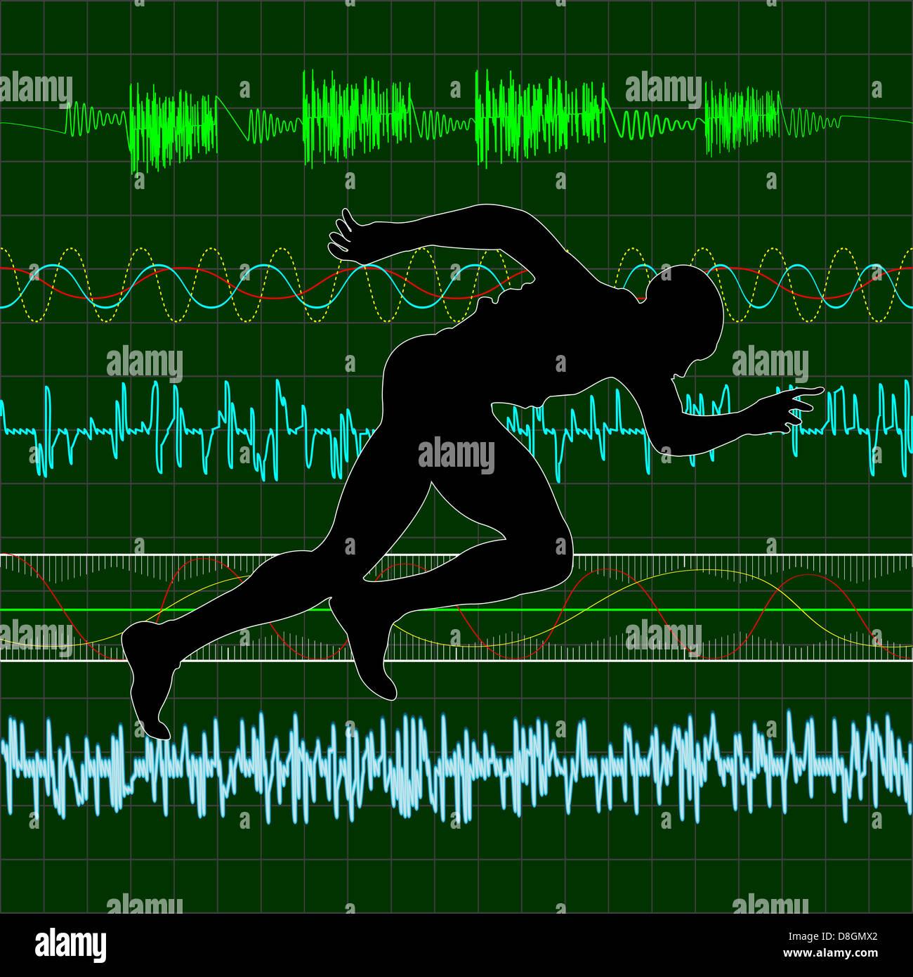 Cardio - Stock Image