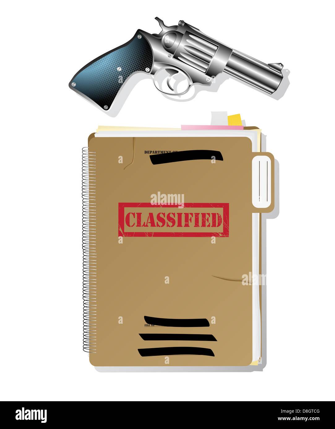 Spy items. - Stock Image