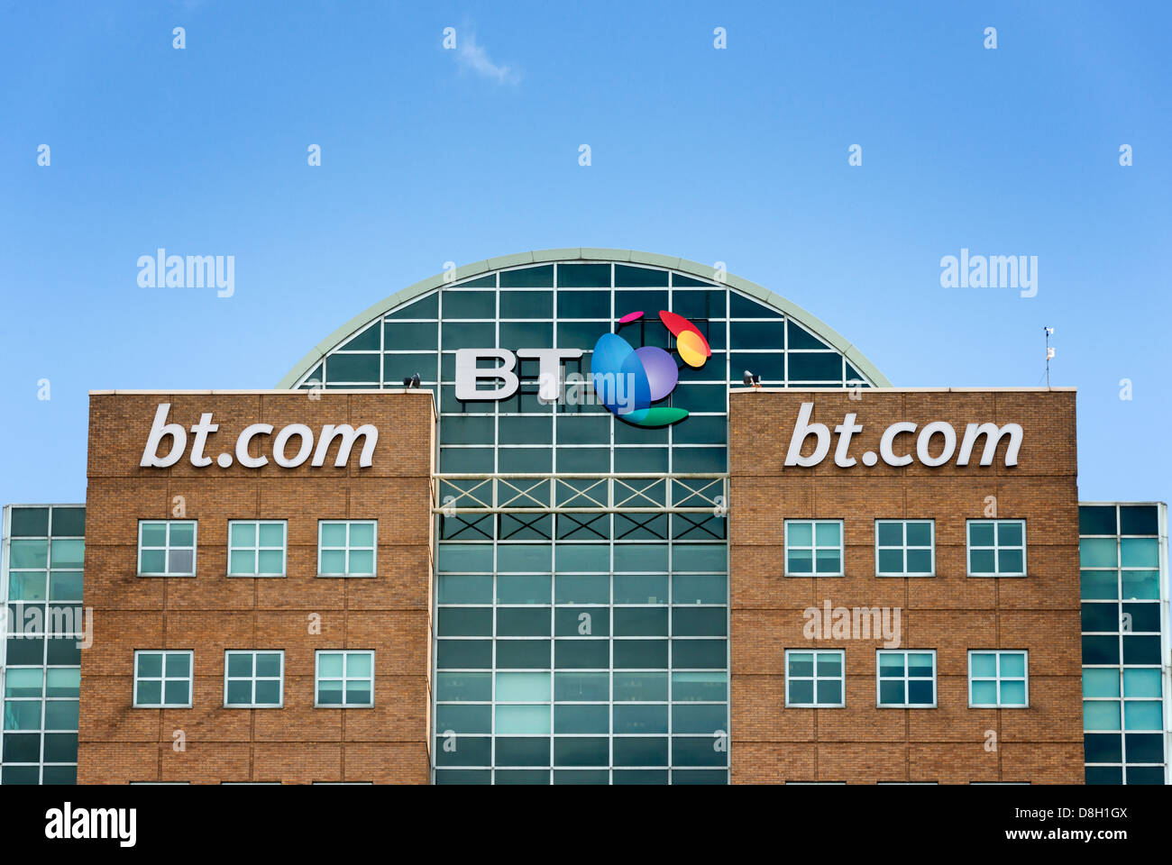 BT Riverside House Stock Photo