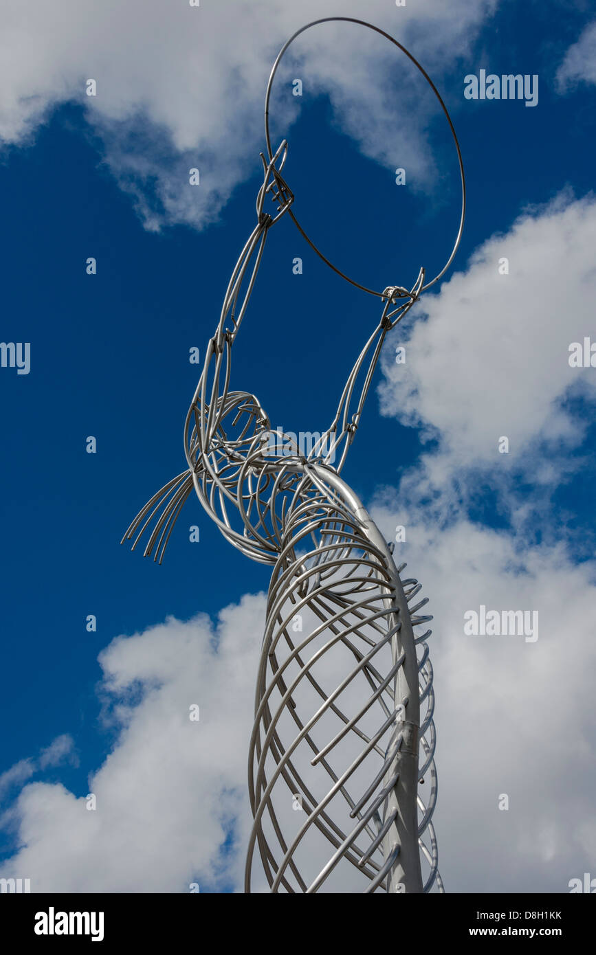 Thanksgiving Sculpture Belfast - Stock Image