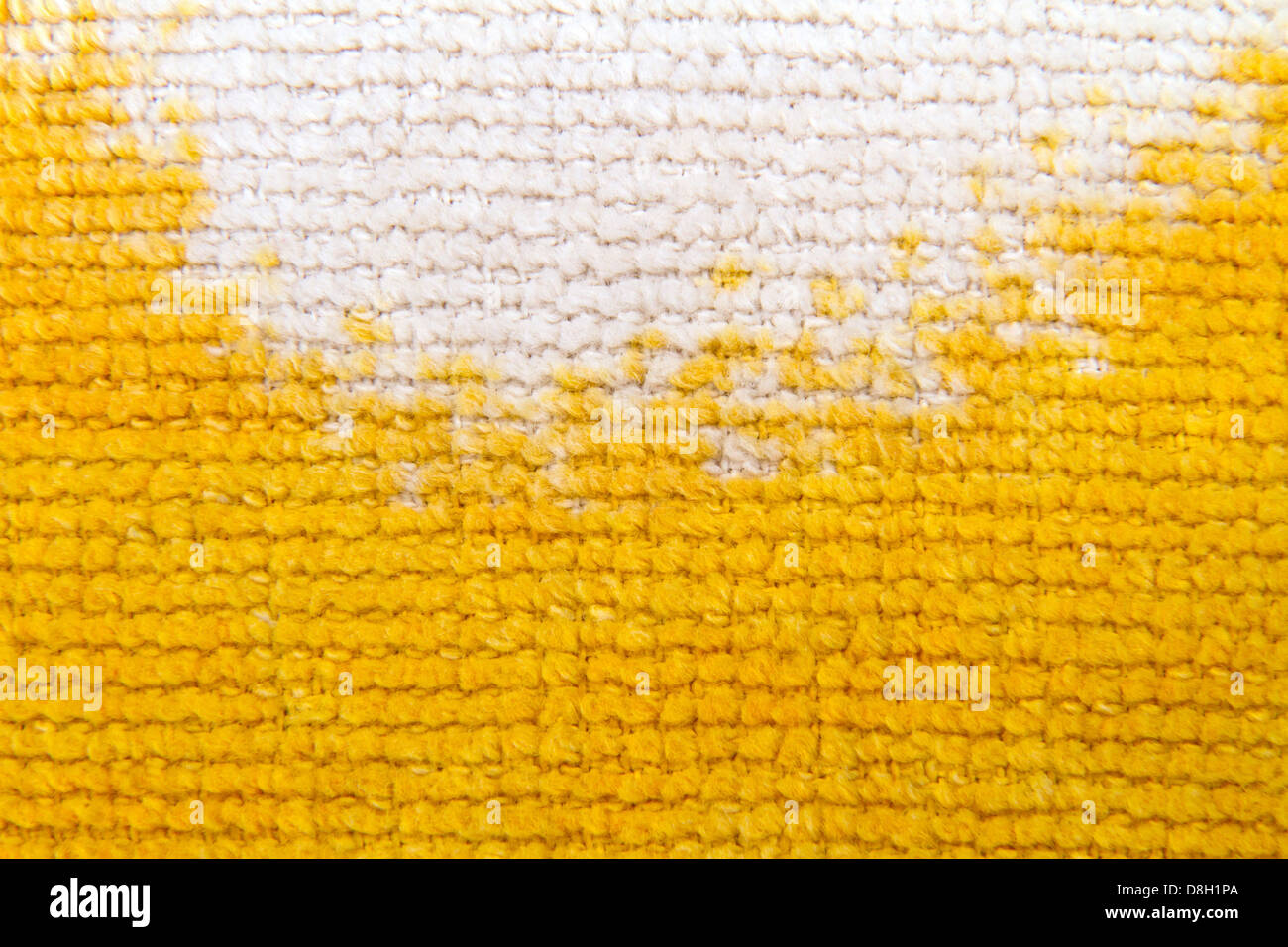 Image background texture of knitting wool - Stock Image