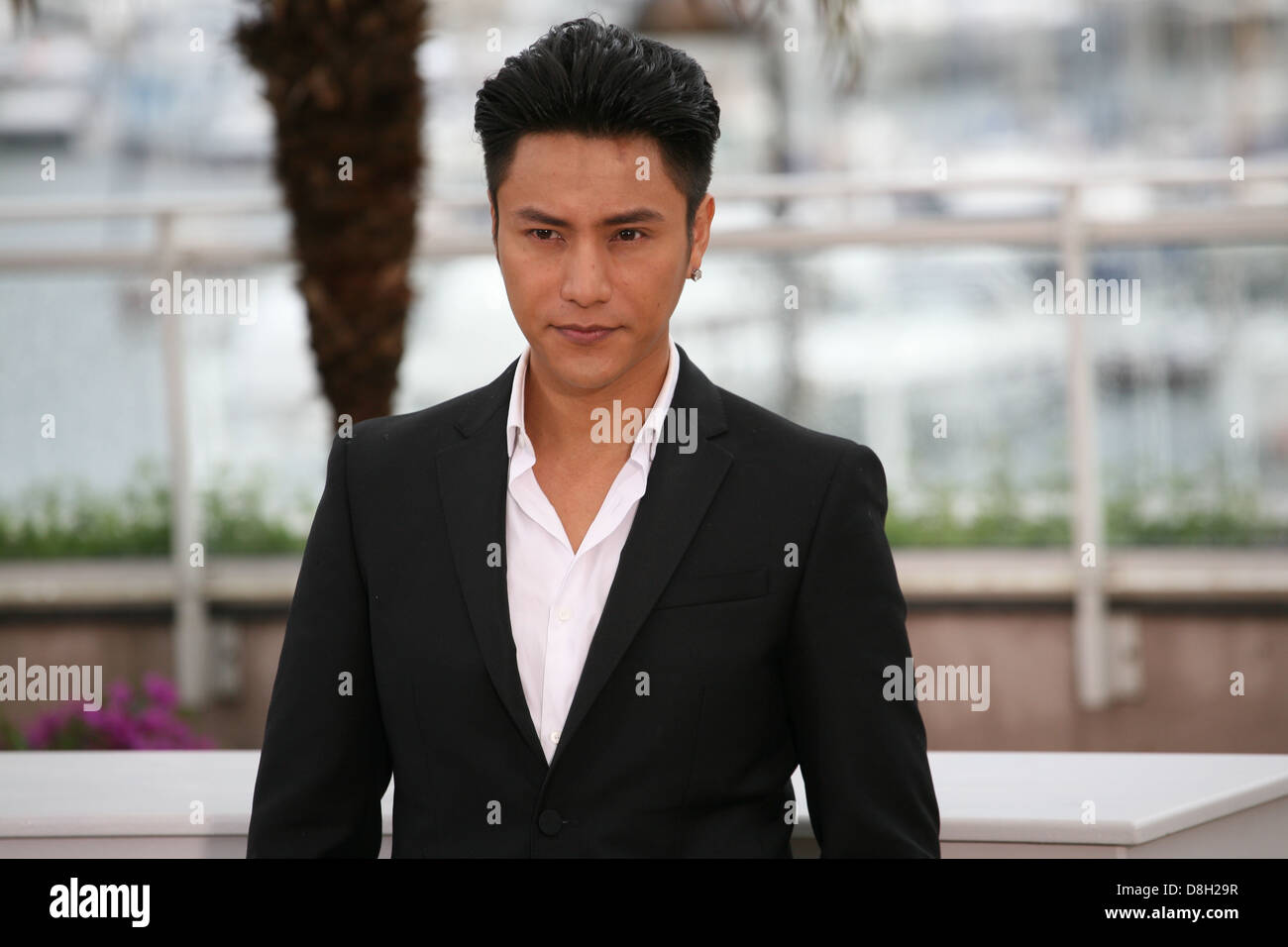 Actor Kun Chen at the Bends film photocall at the Cannes Film Festival 18th May 2013 - Stock Image