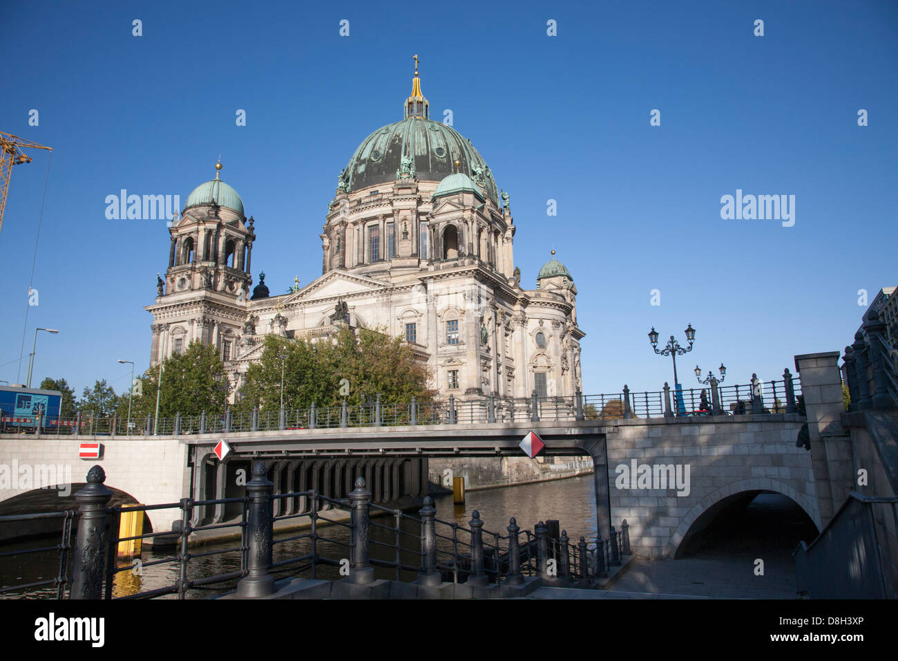 Berliner Dom cathedral, Berlin, Germany - Stock Image