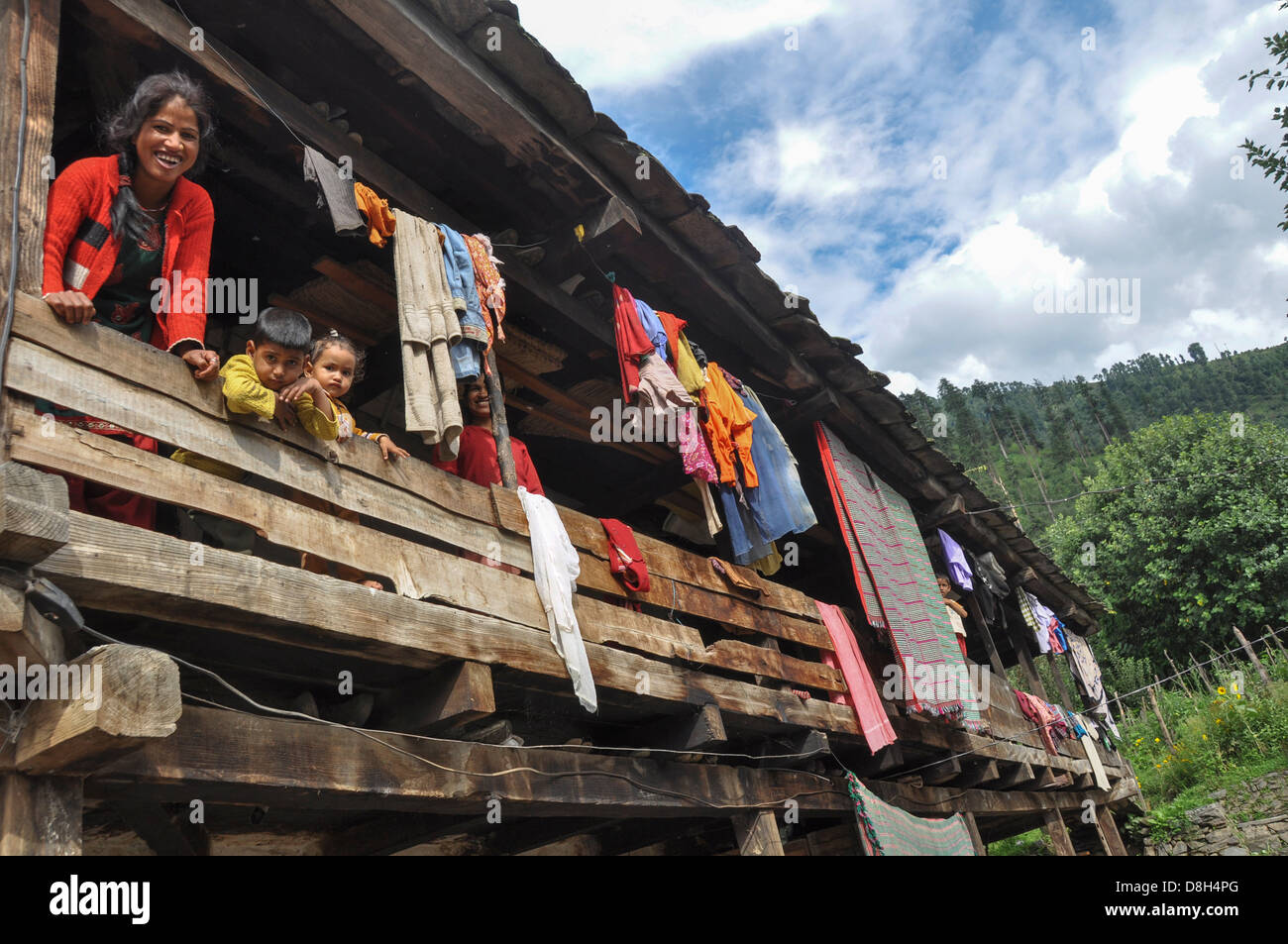 India, Himachal Pradesh, Tosh Valley - Stock Image