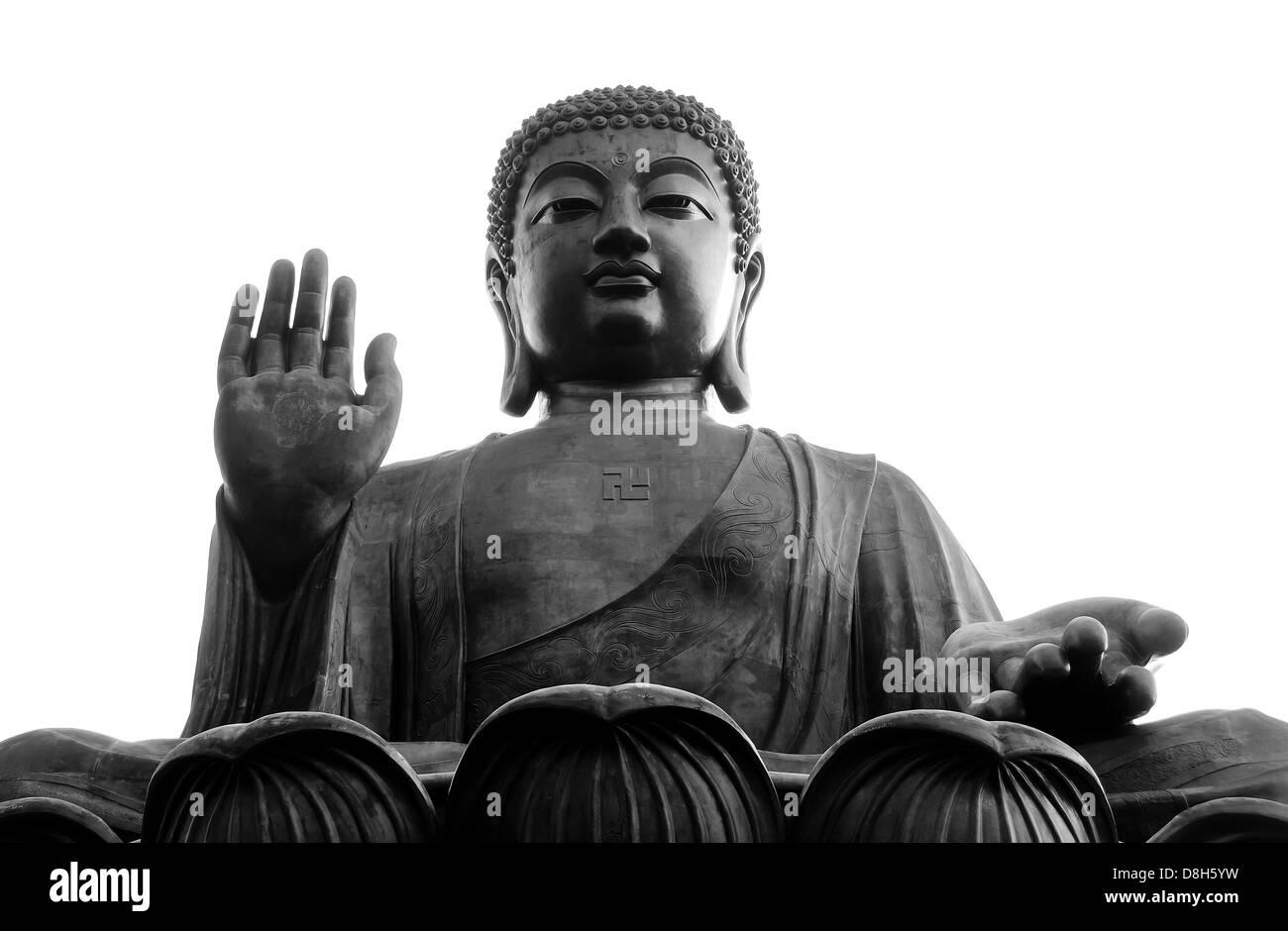 Big Buddha, Lantau Island, Hong Kong - Stock Image