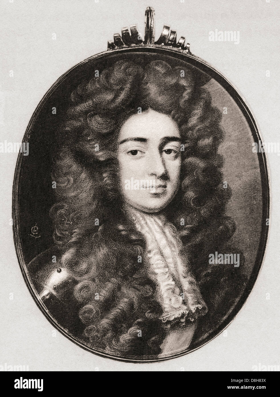 John Holles, 1st Duke of Newcastle-upon-Tyne, 1662 – 1711. - Stock Image