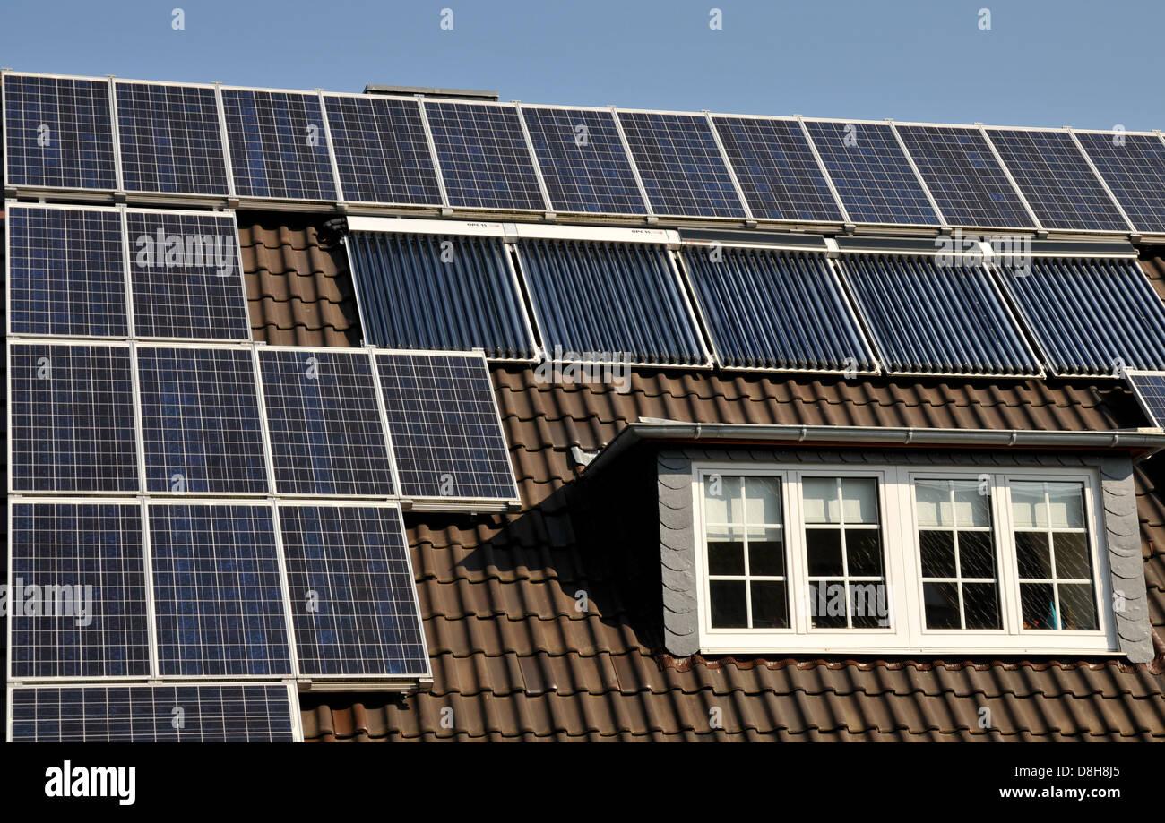 Environmentally friendly living - Stock Image