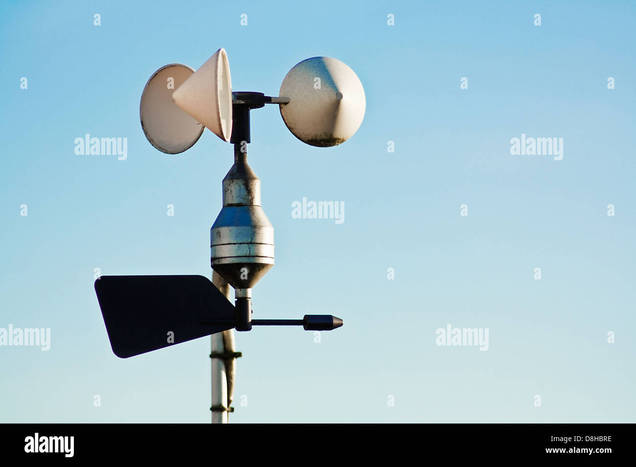 Instrument Measure Wind Speed Stock Photos & Instrument