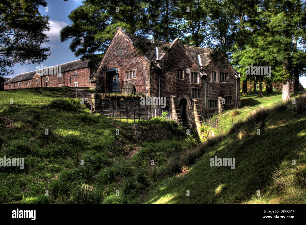 The Old Mill Dunham Massey NT Cheshire England WA14 4SJ - Stock Image