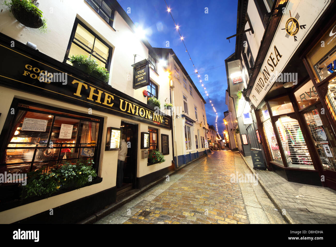 St Ives, Union Inn, 20 Fore Street, St Ives TR26 1AB, Cornwall Stock Photo