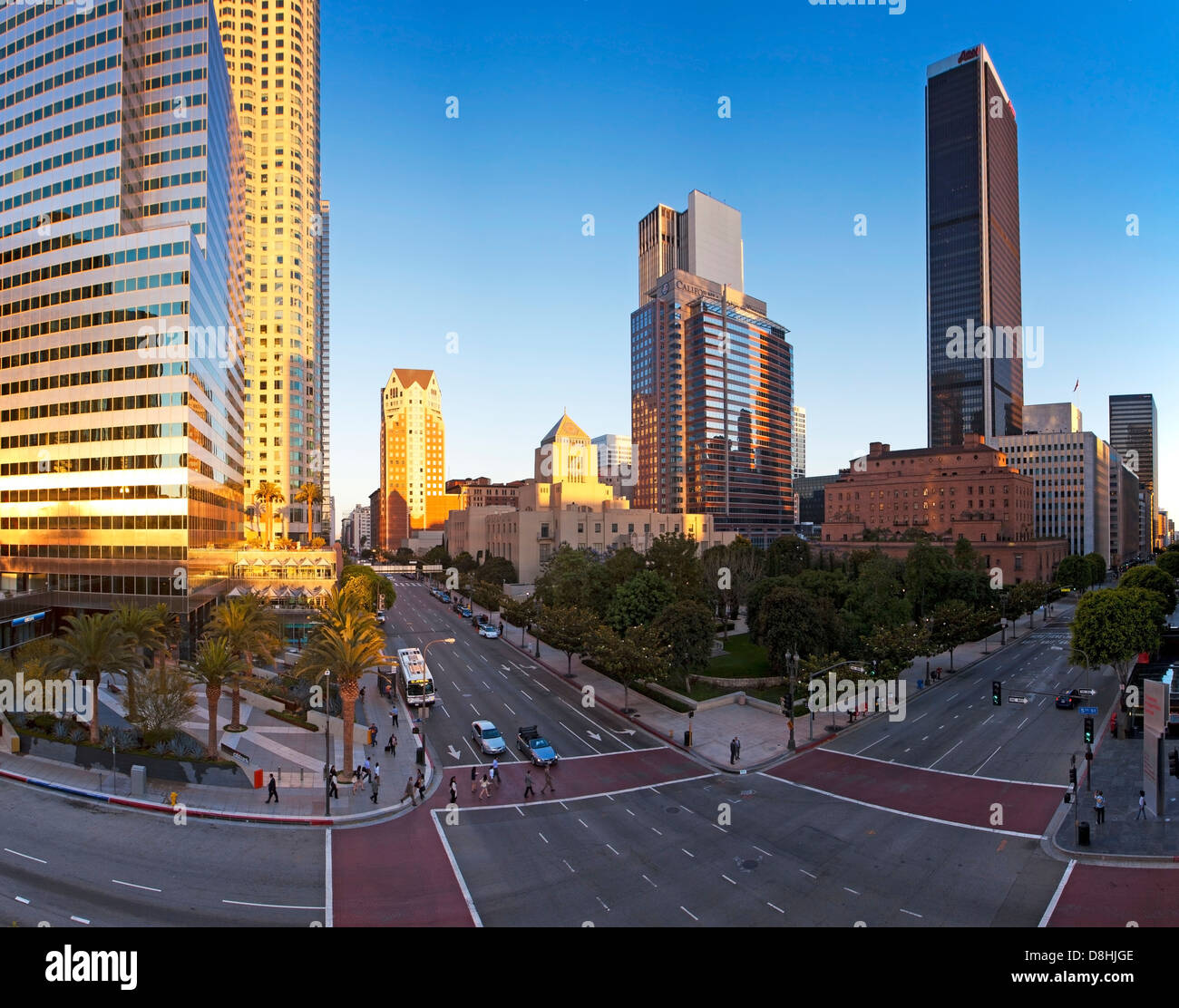 United States, California, Los Angeles, Downtown - Stock Image