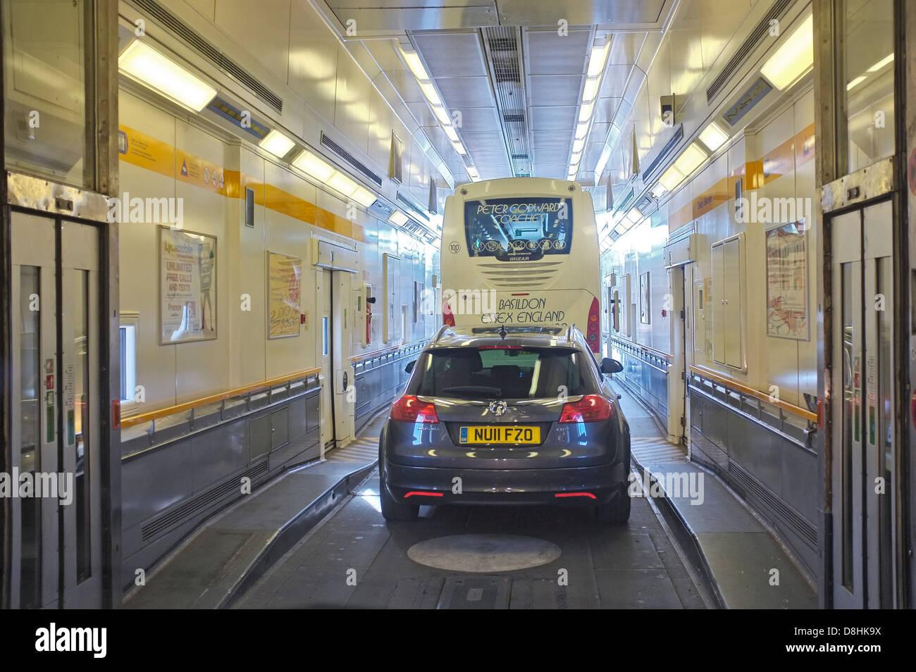 Eurotunnel Folkestone Stock Photos Eurotunnel Folkestone Stock