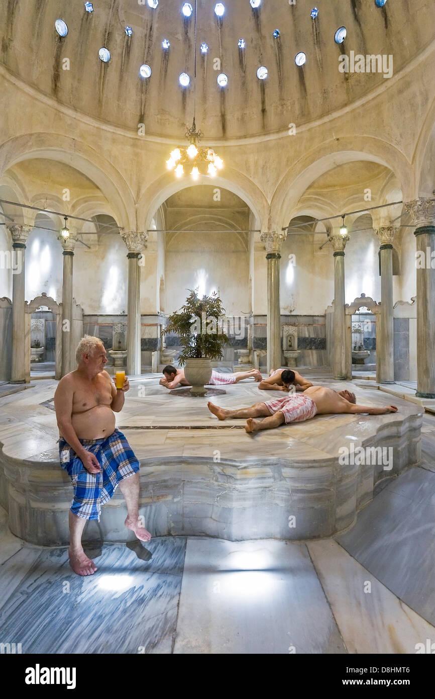 Cagaloglu Hamam Turkish Bath Istanbul Turkey Stock