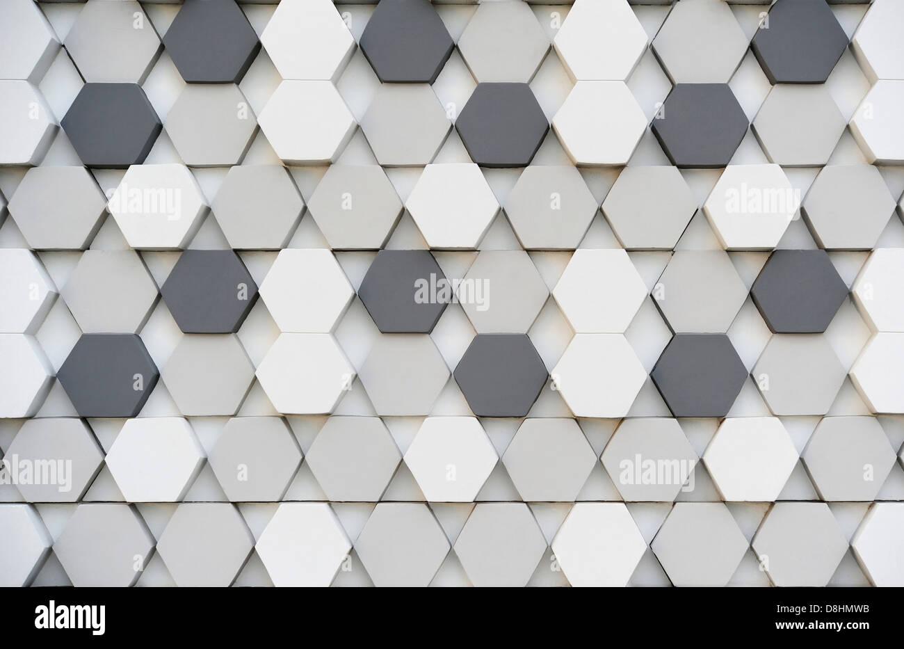 Hexagon pattern - Stock Image