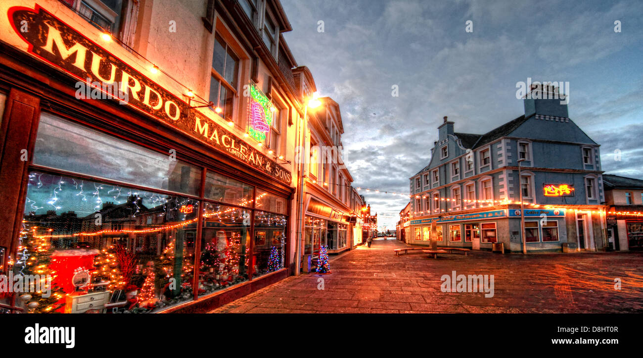Murdo Maclean & Sons Dept store Stornoway Stock Photo